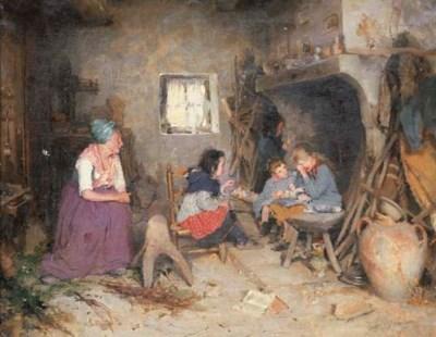 LEON DELACHAUX (Swiss, 1850-19
