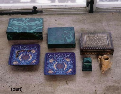 A MISCELLANEOUS GROUP OF ITEMS