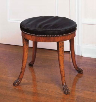 A CONTINENTAL FRUITWOOD TABOUR
