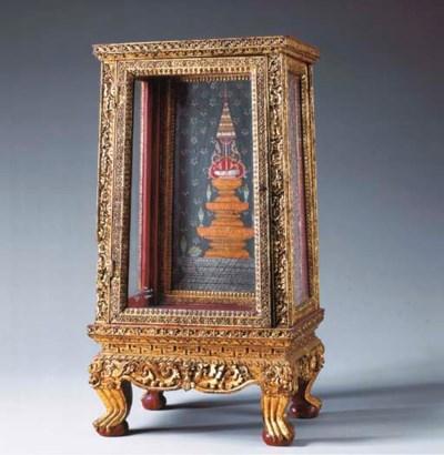 A Small Thai Prayer Cabinet
