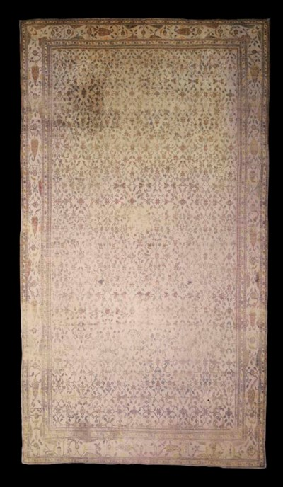 A COTTON AGRA CARPET