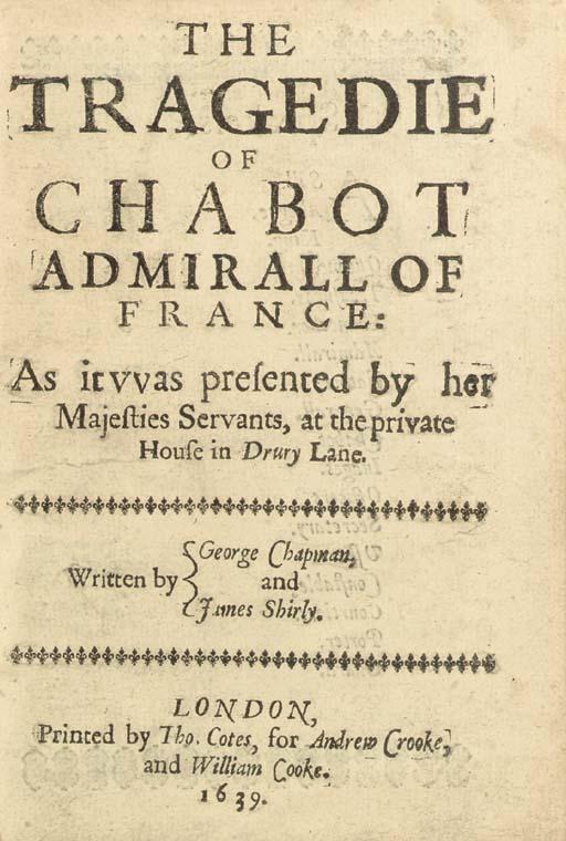 CHAPMAN, George (ca 1559-1634)