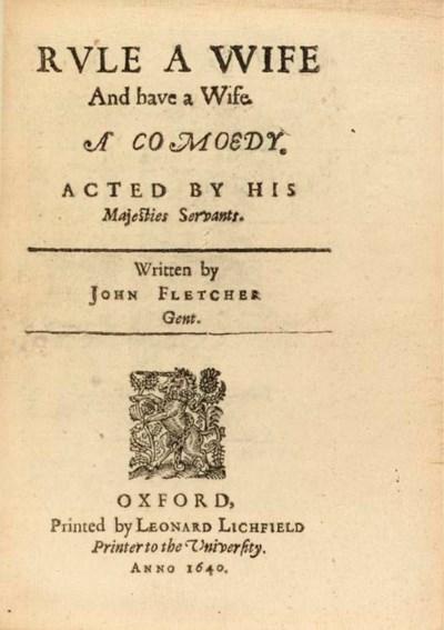 FLETCHER, John (1579-1625). Ru