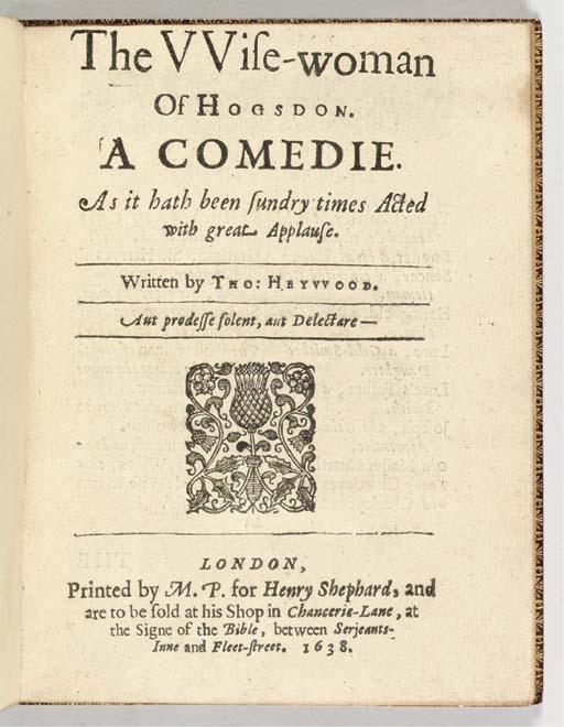 HEYWOOD, Thomas (ca 1573-1641)