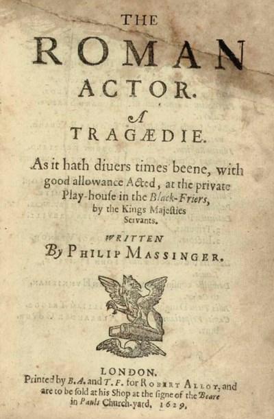 MASSINGER, Philip (1583-1640).