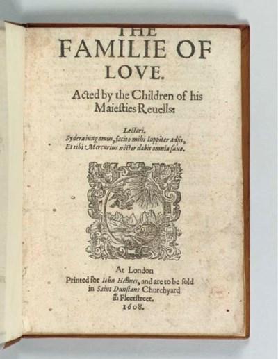 MIDDLETON, Thomas (1580-1627).