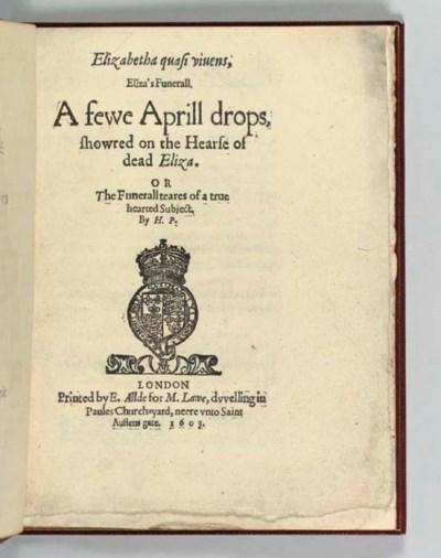 [PETOWE, Henry (fl.1598-1612)]