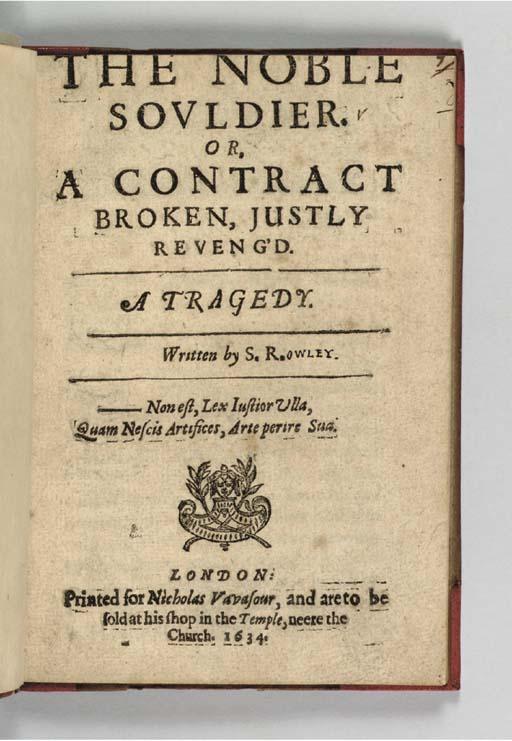 ROWLEY, Samuel (d. ca 1633). T