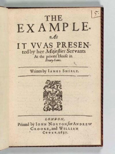 SHIRLEY, James (1596-1666). Th
