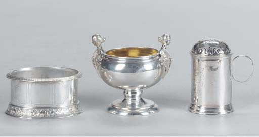 TWO PAIRS OF AMERICAN SILVER S
