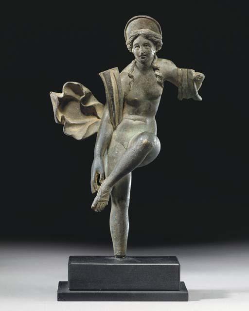 A ROMAN BRONZE VENUS