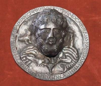 A PROVINCIAL ROMAN SILVER ROUN
