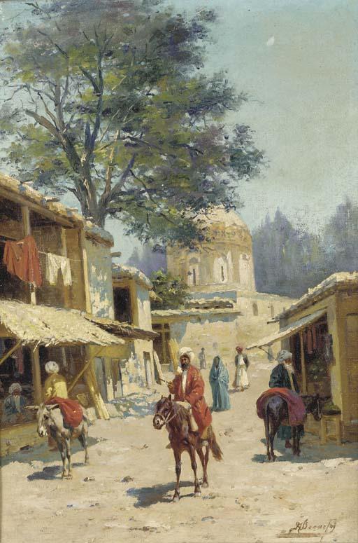 Henri Arthur Bonnefoy (FRENCH,