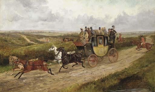 FINCH MASON (BRITISH, 19TH CEN