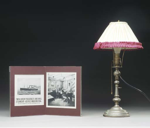 A lamp from the S.S. George Wa