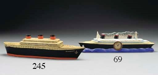 A ceramic model of the S.S. No