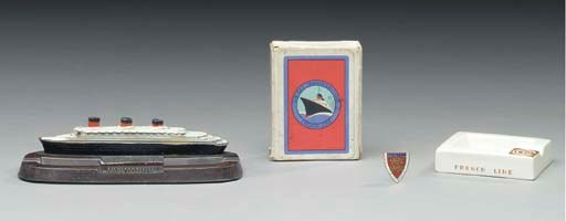A set of playing cards, ashtra