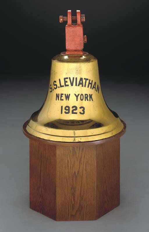 The stern bell from the S.S. L