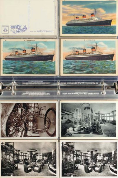 A collection of S.S. Normandie