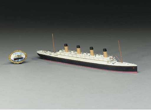 A waterline model of the R.M.S