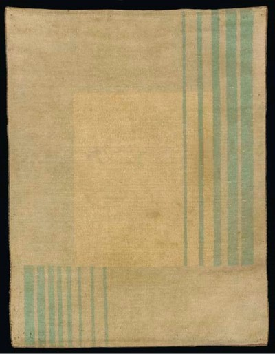 A wool chenelle rug from a sta