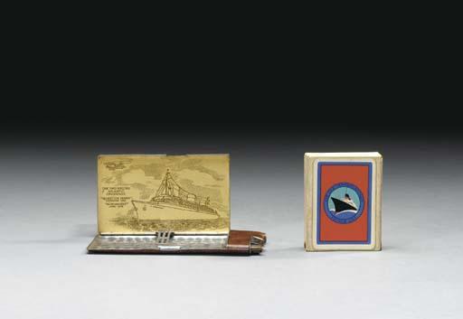 A combination cigarette case/l