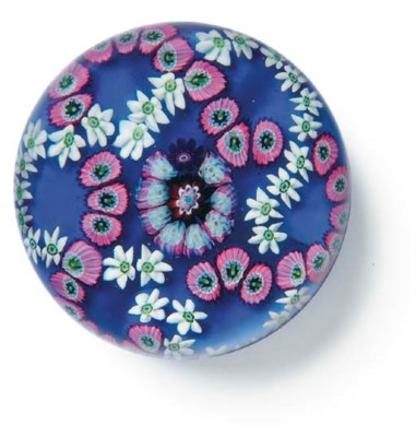 A CLICHY PATTERNED MILLEFIORI