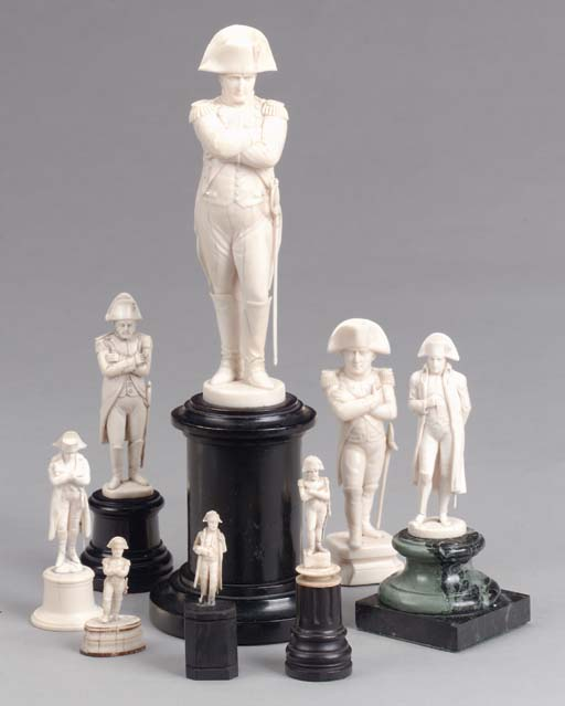 A GROUP OF EIGHT VARIOUS CARVE