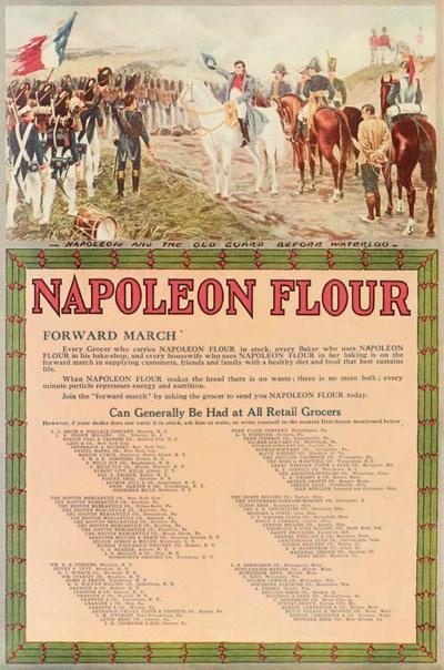 NAPOLEON FLOUR ADVERTISEMENTS