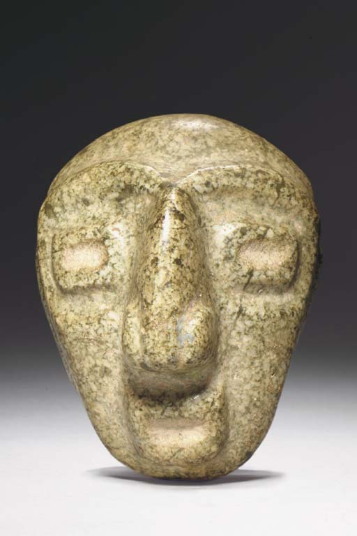 A CHONTAL STONE HEAD