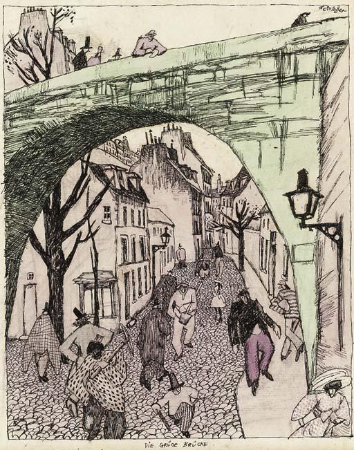 Lyonel Feininger (1871-1956)