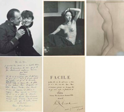 Paul ELUARD -- Man RAY