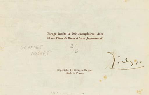 Georges HUGNET -- Joan MIRÓ --