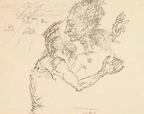René LAPORTE -- Salvador DALI