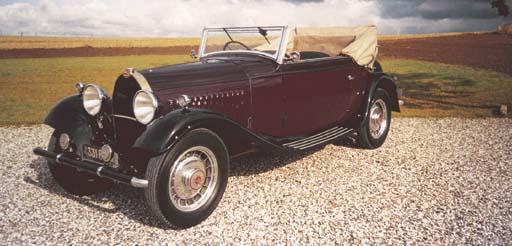 1932 BUGATTI TYPE 49 CABRIOLET