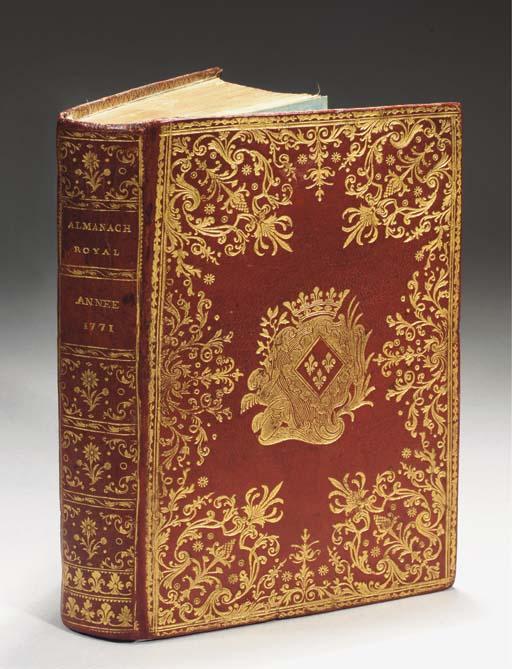 Almanach royal, année M. DCC.