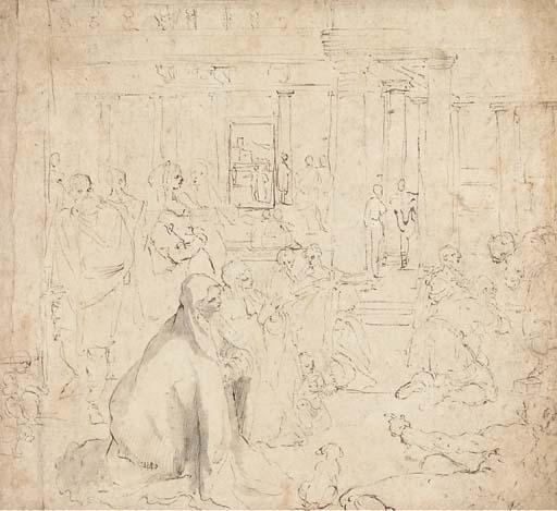 Ecole Siennoise, début 17ème s