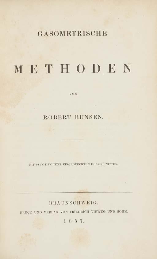 BUNSEN, Robert Wilhelm Eberhar
