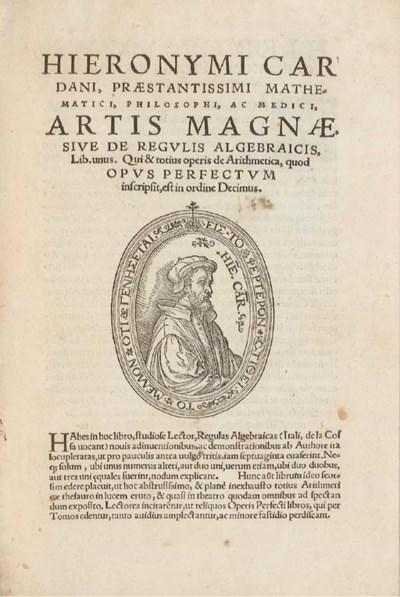 CARDAN, Jérôme (1501-1576). Ar