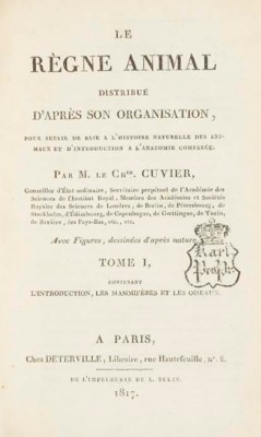 CUVIER, Georges (1769-1832). L