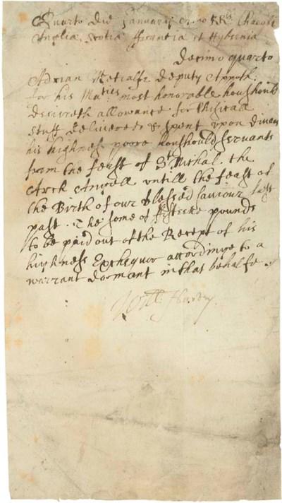 HARVEY, William (1578-1657). D