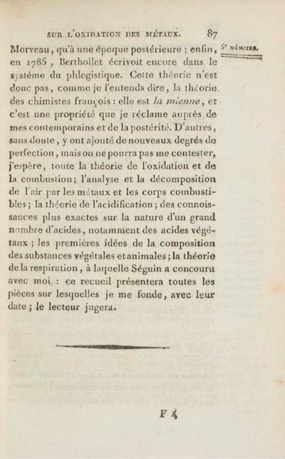 [LAVOISIER, Antoine Laurent (1