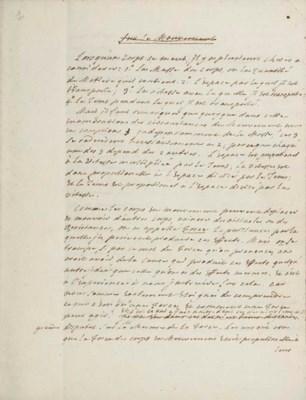 MAUPERTUIS, Pierre-Louis Morea
