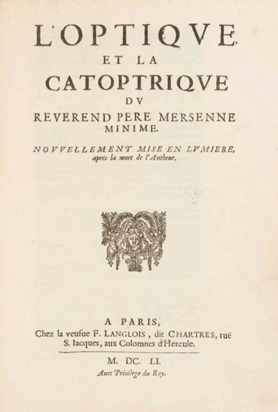 MERSENNE, Marin (1588-1648). L