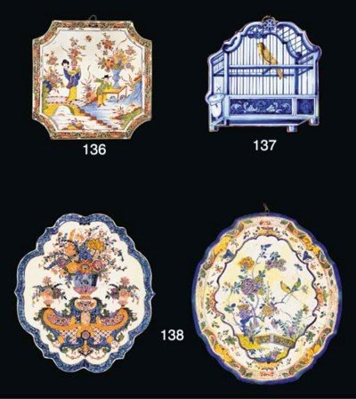 PLAQUE EN FAIENCE DE DELFT DU