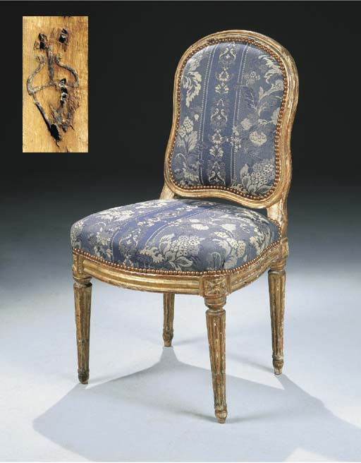 CHAISE D'EPOQUE LOUIS XVI