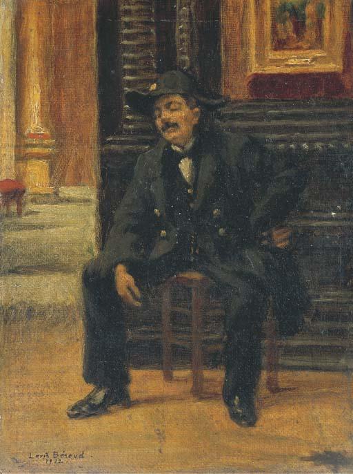 LOUIS BEROUD (LYON 1852-1930 P