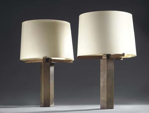 PAIRE DE LAMPES DE TABLE