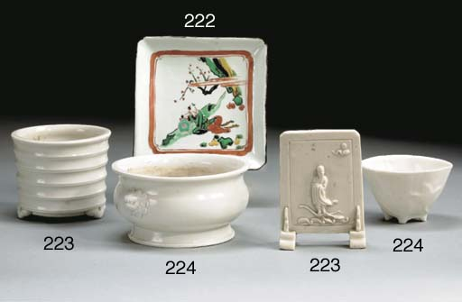 COUPELLE CARREE EN PORCELAINE