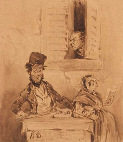 Suiveur de Honoré Daumier (180